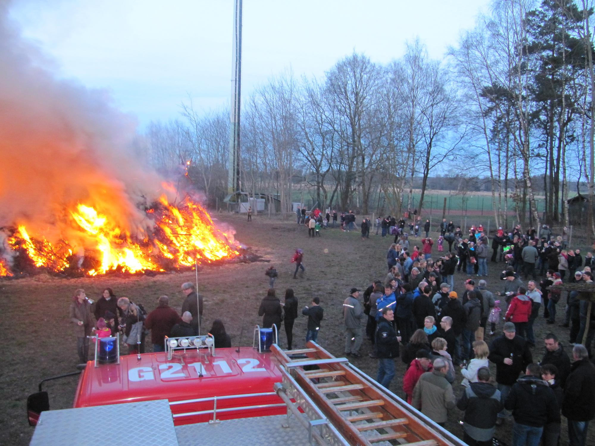 Osterfeuer 2016 6